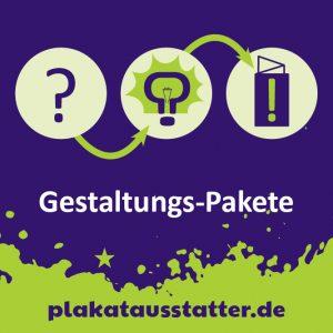 Gestaltungs-Pakete – plakatausstatter.de