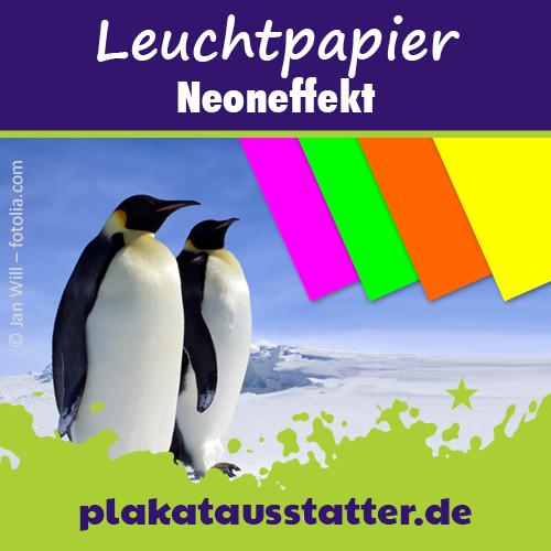 Neonpapier von plakatausstatter.de