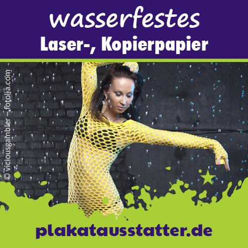 Outdoor-Papier von plakatausstatter.de